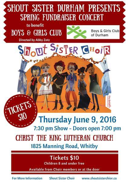 Shout Sisters Choir Durham 2016